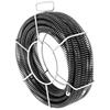 Spirala przepychacz sprężyna do rur hydrauliczna 3 x4.6 m śr. 22 mm ZESTAW