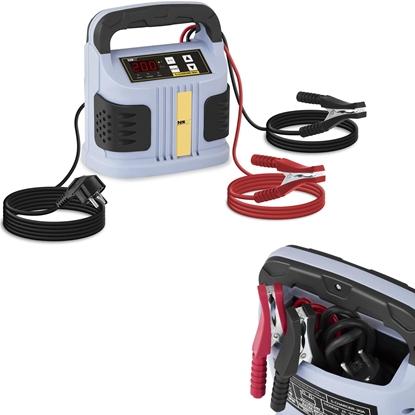 Prostownik do akumulatorów samochodowych Wyświetlacz LED 6/12/24V 20A