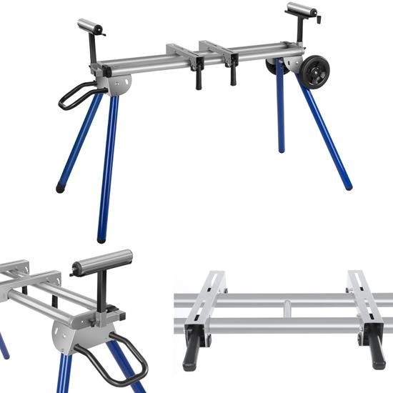 Stół stojak roboczy do ukośnicy piły pilarki ukosowej do 200kg szer. 330cm