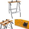 Stół roboczy warsztatowy z regulowanymi blatami składany do 100kg szer 120cm