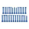 Zestaw ściągaczy dźwigni tapicerskich do demontażu tapicerki samochodowej 27 elementów
