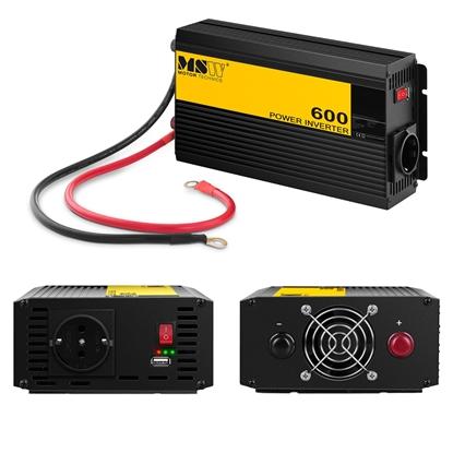 Przetwornica napięcia samochodowa do akumulatora 600/1200W