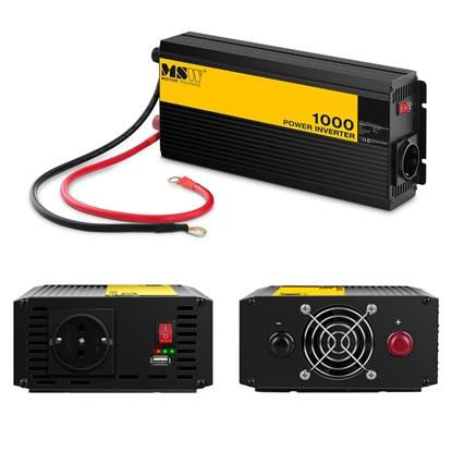 Przetwornica napięcia samochodowa do akumulatora 1000/2000W