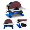 Szlifierka tarczowa stołowa warsztatowa 550 W + Tarcza ścierna 250 mm