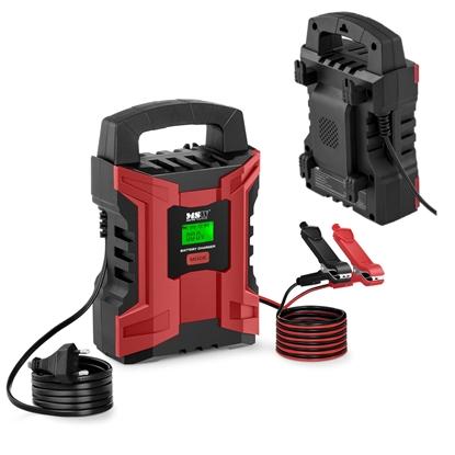 Prostownik ładowarka akumulatorowa samochodowa z ekranem LCD 180 W 6/12 V 2/10 A