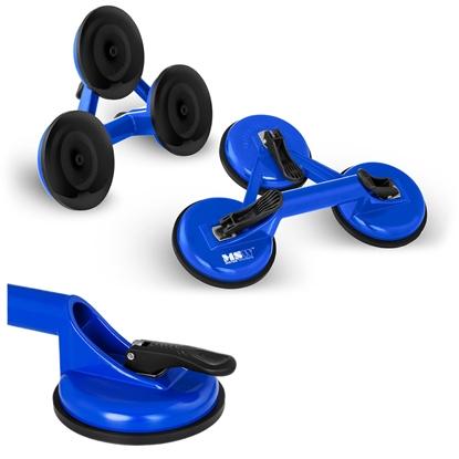 Uchwyt przyssawka do przenoszenia szyb potrójna nośność do 120 kg 2 szt.
