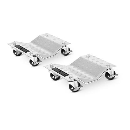 Wózek rolki do przemieszczania pojazdów samochodów - ZESTAW 2 szt