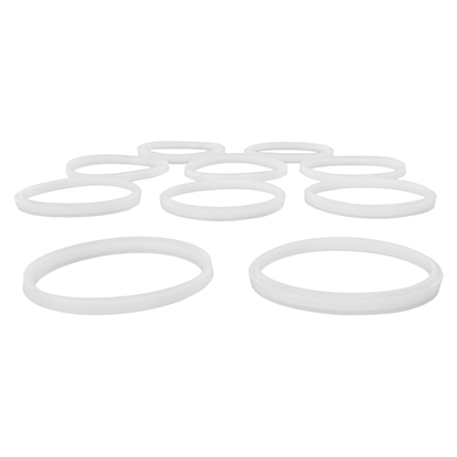 Komplet 10szt. silikonowych uszczelek do napełniacza do kiełbasy 3-7L