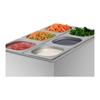 Bemar bufet grzewczy gastronomiczny z kranikiem + 6 GN Z POKRYWKAMI