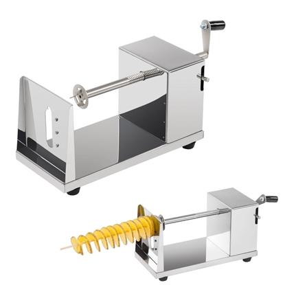 Ręczna maszyna do frytek na patyku twister chips