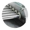 Grill rolkowy z pokrywą roller grill podgrzewacz do parówek 5 rolek