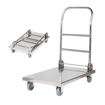 Wózek platformowy składany stalowy HoReCa platforma 70x52cm