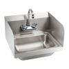 Umywalka kuchenna do rąk ze stali nierdzewnej szer. 43,5cm