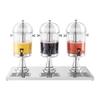 Dyspenser dozownik do napojów chłodzący na lód 3 x 7L