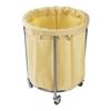 Wózek na brudne pranie bieliznę okrągły 230L