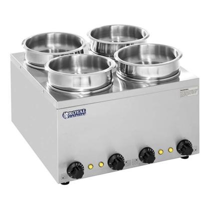 Bemar elektryczny podgrzewacz do zupy 600W 230V 4 x 3.8L