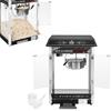 Profesjonalna wydajna maszyna do popcornu nastawna 230V 1.6kW czarna