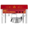 Profesjonalna wydajna maszyna do popcornu nastawna 230V 1.6kW czerwona
