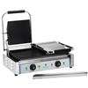 Kontakt grill kontaktowy dwustronny podwójny gładki 3600W 230V Royal Catering