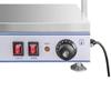 Elektryczna płyta taca grzewcza kompaktowa 2 lampy halogenowe 1100W 230V