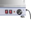 Elektryczna płyta taca grzewcza kompaktowa 3 lampy halogenowe 1550W 230V