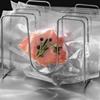 Worki próżniowe moletowane w rolce do pakowarki próżniowej ZESTAW 600 x 20 cm 4 rolki certyfikat LFGB oraz FDA