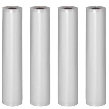 Folia próżniowa w rolce do pakowarki próżniowej 600 x 30 cm 4 rolki certyfikat LFGB oraz FDA