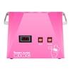 Maszyna do waty cukrowej LED różowa 52cm 1030W Royal Catering RCZK-1030-W-R