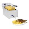 Profesjonalna frytownica do frytek ryb z kranem 3000W 17L Royal Catering RCEF 15E