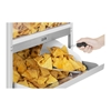 Podświetlany podgrzewacz do nachos popcornu orzeszków LED 100W Royal Catering RCNW-1L