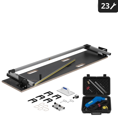 Termiczna maszyna do cięcia styropianu 1350 / 320mm 200W + nóż do styropianu 250W EASYCUTTER SET