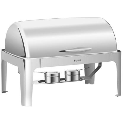 Podgrzewacz do potraw stołowy na pastę roll top GN 1/1 Royal Catering RCCD-RT9L