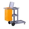 Wózek serwisowy do sprzątania z nieprzemakalną torbą i pokrywą Singercon CON.JT-WBWC