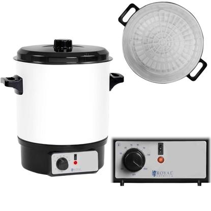 Podgrzewacz warnik do potraw zup gulaszu z funkcją pasteryzacji słoików 1800W 27L