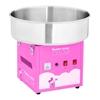 Maszyna do waty cukrowej różowa śr. misy 520mm + miarka do cukru