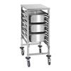Wózek gastronomiczny transportowy do pojemników 7x GN1/1 nośność do 50kg