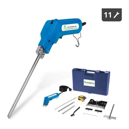 Nóż termiczny przecinarka do cięcia styropianu STYRO CUTTER 190W zestaw 11 elem.