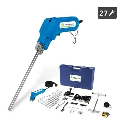 Nóż termiczny przecinarka do cięcia styropianu STYRO CUTTER 250W zestaw 27 elem.