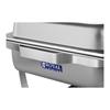 Podgrzewacz do potraw na pastę stalowy GN1/2 2 x GN1/4 + Pojemniki GN