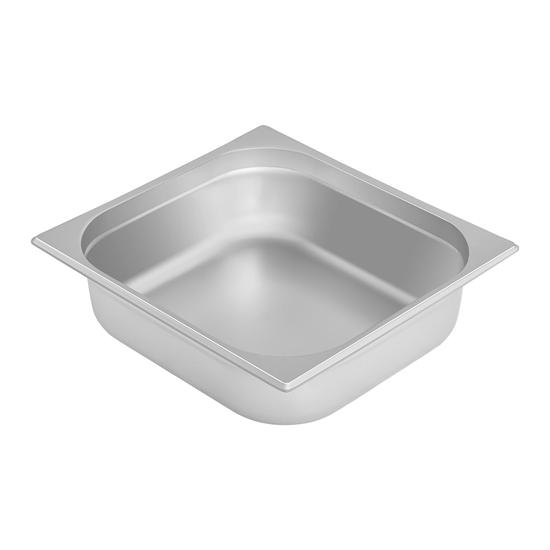 Naczynie pojemnik stalowy gastronomiczny GN2/3 gł. 100 mm