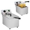Frytownica nastawna gastronomiczna elektryczna 230 V 3200W 8 L