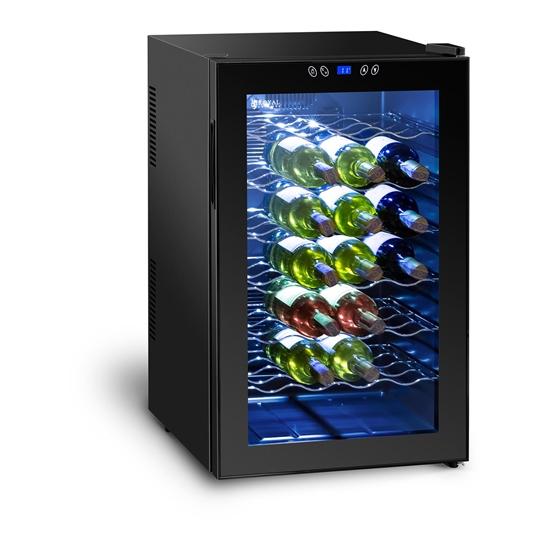 Lodówka chłodziarka do wina na 28 butelek 80L