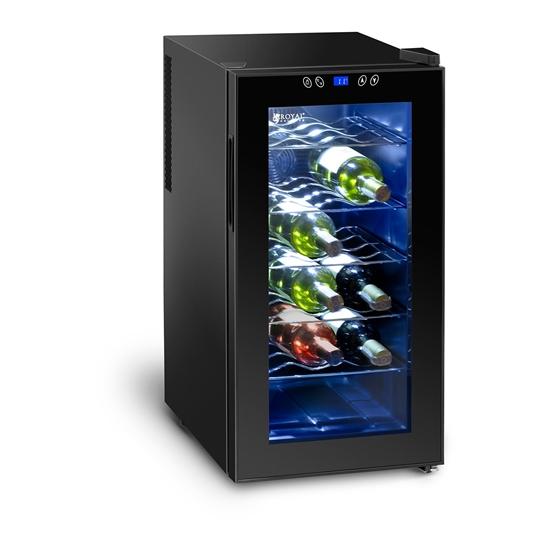 Lodówka chłodziarka do wina na 18 butelek 50L