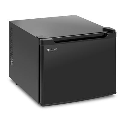 Mini mała lodówka barek chłodziarka hotelowa czarna 35L