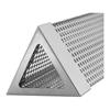 Wkład do wędzarni na wiórki zrębki drewna trójkątny nierdzewny 30.2x6.2x5.4cm