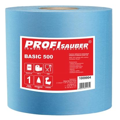 Czyściwo włókninowe przemysłowe bezpyłowe ProfiSauber BASIC 500