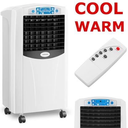 Klimatyzer do domu i biura z nawilżaczem i jonizatorem powietrza oraz nagrzewnicą 65 W - 5w1