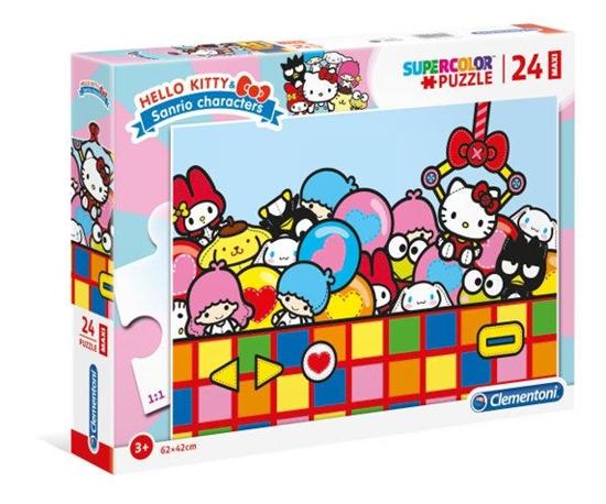 Clementoni Puzzle 24el Maxi Hello Kitty 24202 (24202 CLEMENTONI)