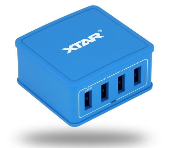 Sieciowa ładowarka Xtar 4U 4x USB 5.4A 27W