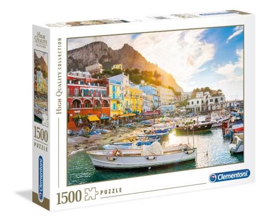 Clementoni Puzzle 1500el Capri 31678 p6, cena za 1szt. (31678 CLEMENTONI)
